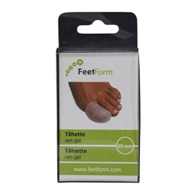 FeetForm gel tåhætte, 20 mm